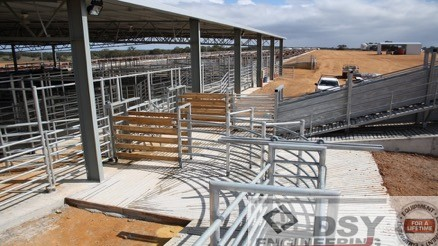 Cullalla Feedlot Gingin Western Australia - DSY Engineering